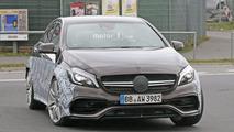 2017 Mercedes-AMG A45 prototype spy photo