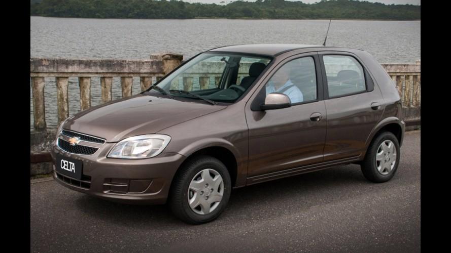 GM finalmente encerra produção do Celta; Classic sai de cena em 2016