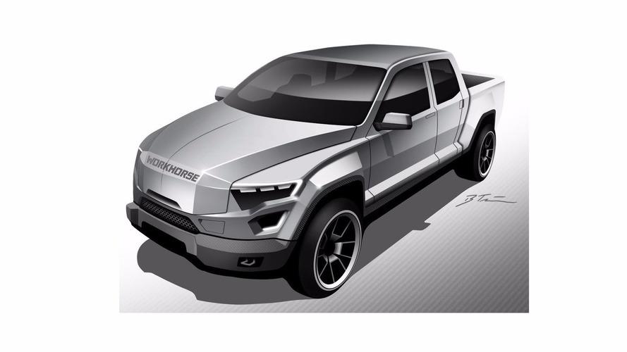 EV pickup concept looks like Judge Dredd's work truck
