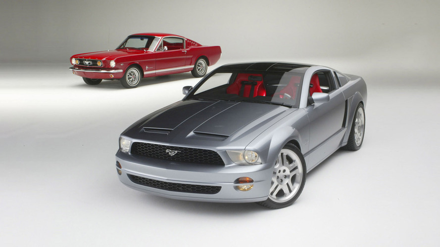 Ford Mustang GT Concept (2003) – Make the Mustang great again !