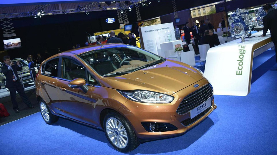 2013 Ford Fiesta facelift bows in Paris