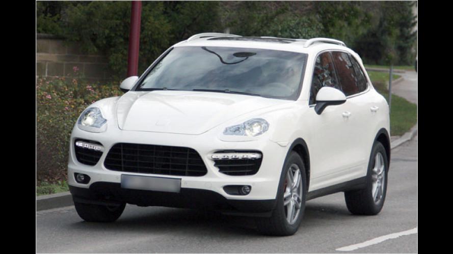 Fast ungetarnt: Der neue Porsche Cayenne zeigt sich