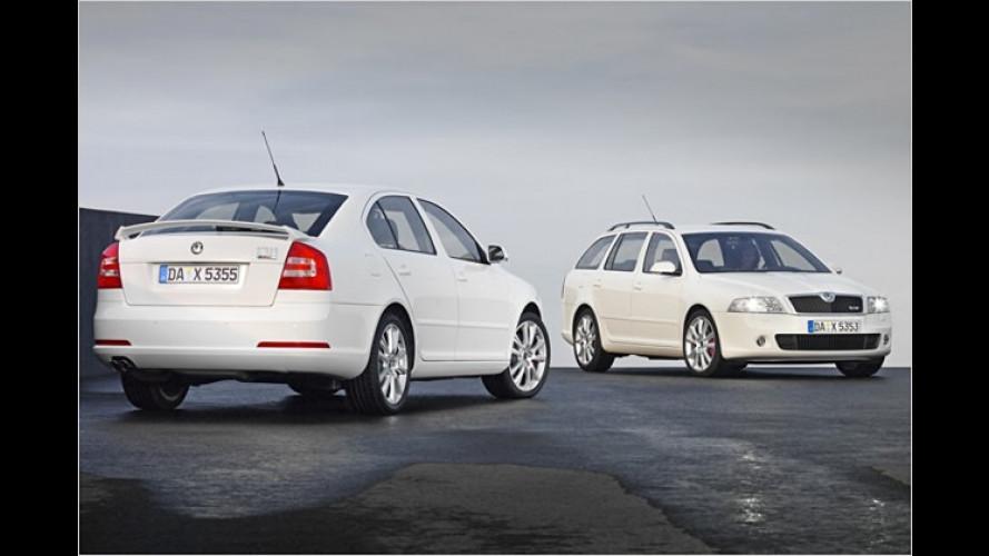 Skoda steigt um: Octavia RS bekommt Common-Rail-Diesel