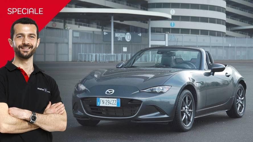 Mazda MX-5, la prova dell'auto della felicità