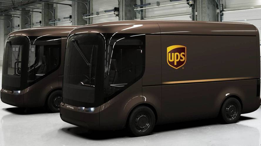UPS Is Trialling These Cool Electric Vans In London And Paris