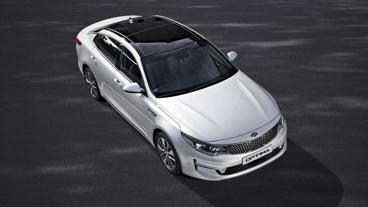 2016 Kia Optima (Euro-spec)