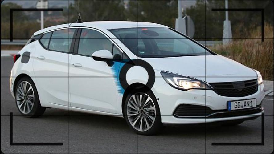Nuova Opel Astra GSi, foto spia della sportivetta