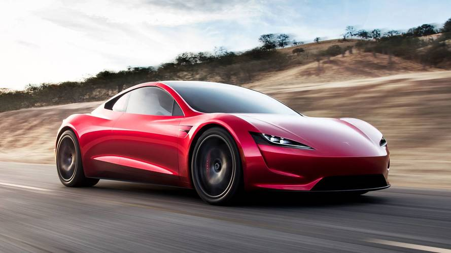 Elon Musk unveils new Tesla truck...and surprise new Roadster