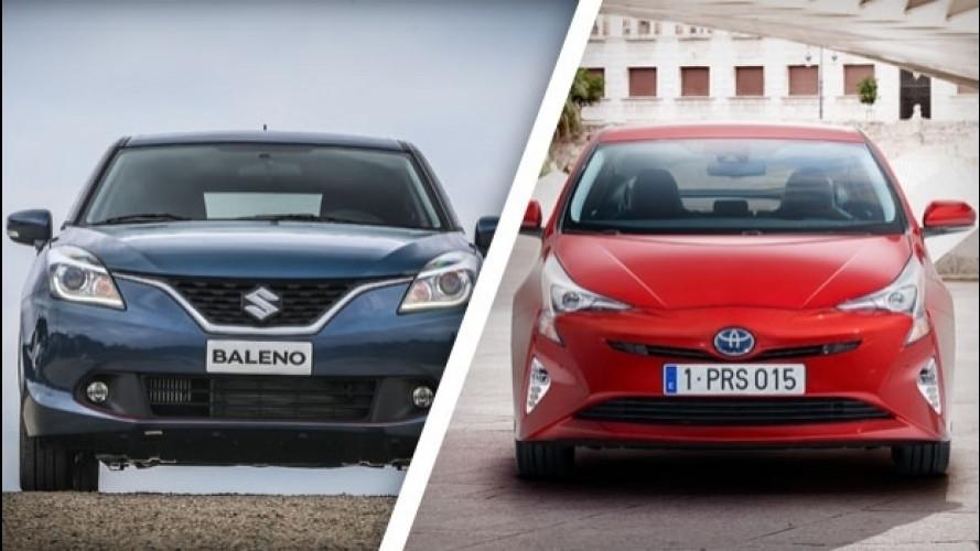 Suzuki e Toyota, un'alleanza inedita
