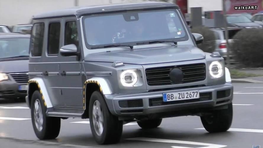 Yeni Mercedes G-Serisi yolda görüntülendi