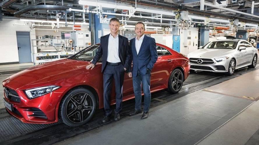 Megkezdődött Sindelfingenben az új Mercedes-Benz CLS gyártása