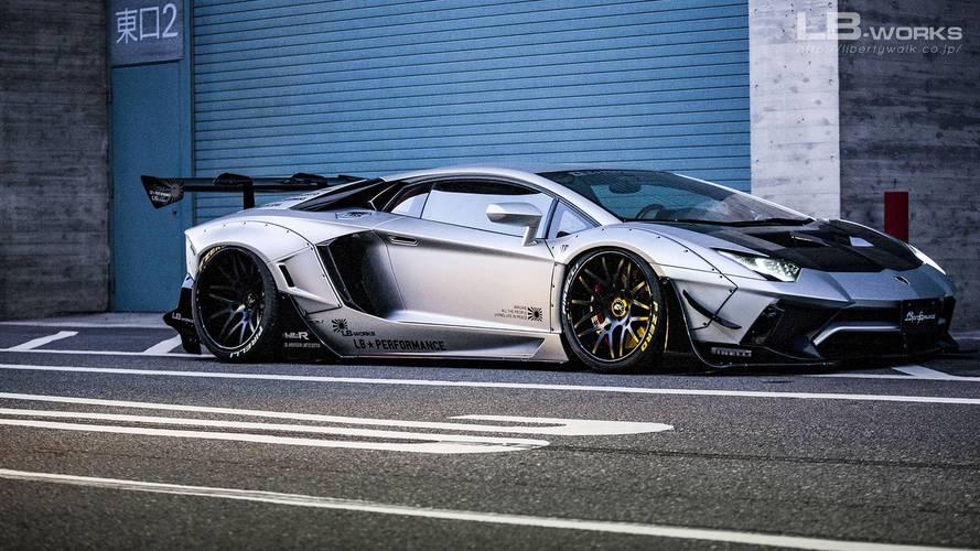 Liberty Walk se déchaîne sur la Lamborghini Aventador