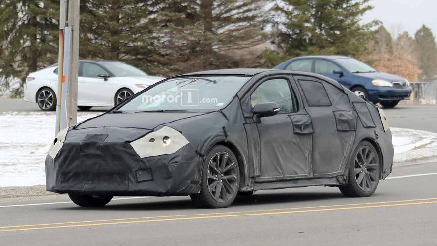 2020 Toyota Corolla Spied Looking Mysterious In Black
