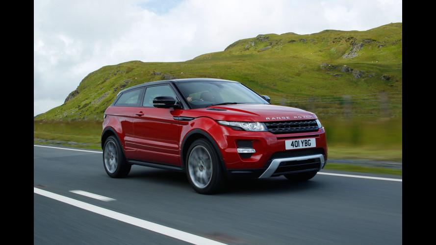 Range Rover Evoque a partire da 35.400 euro