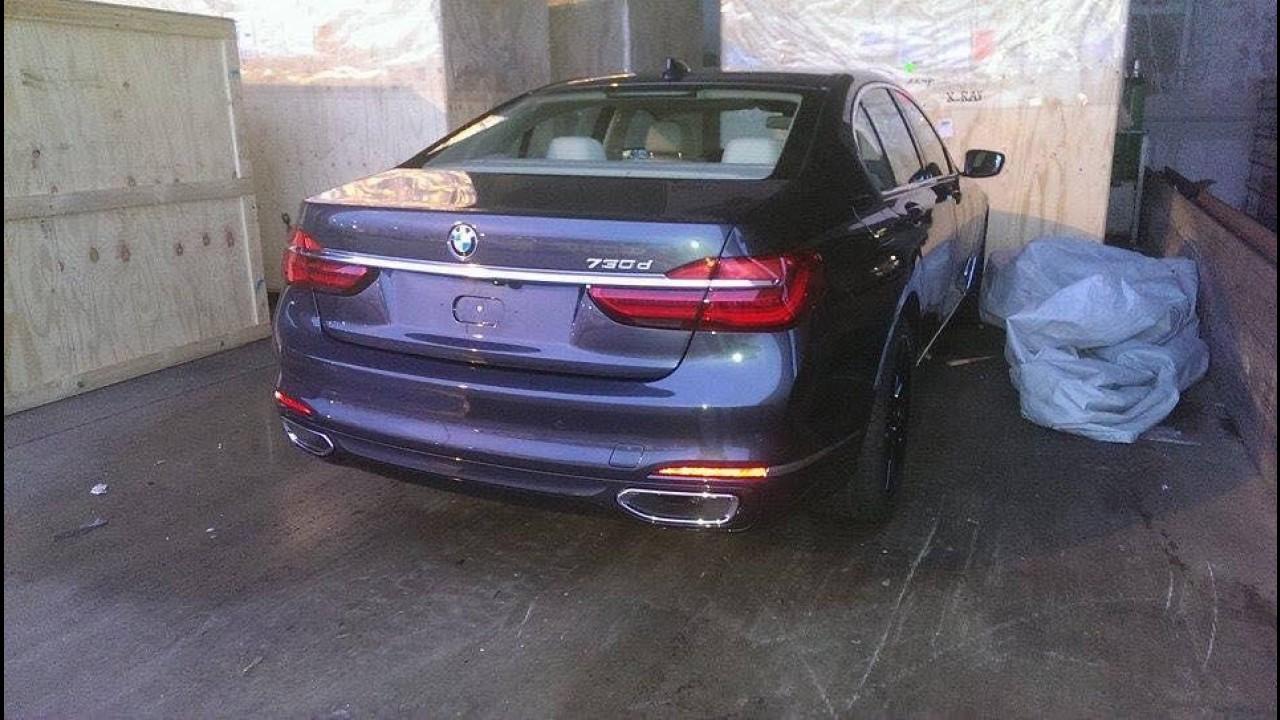 Flagra: surge nova imagem do próximo BMW Série 7 sem disfarce