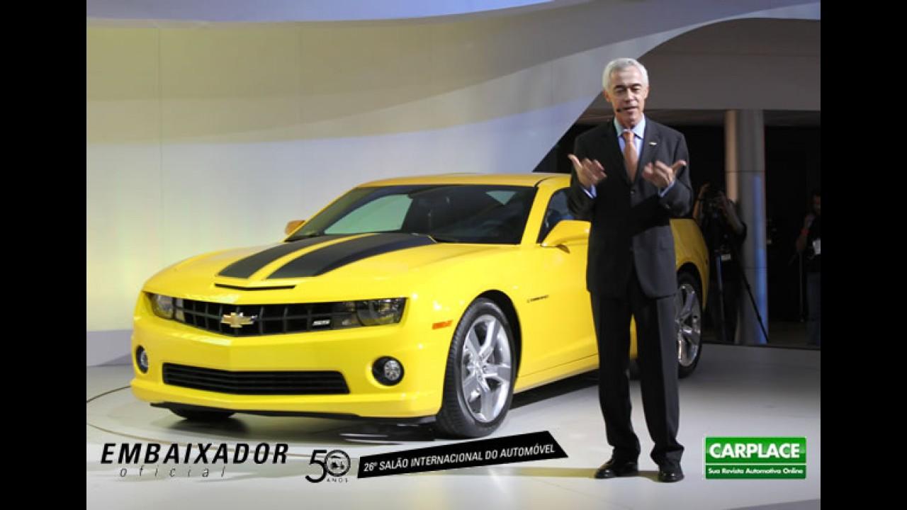 Direto do Salão do Automóvel: Chevrolet Camaro SS chega por R$ 185 mil