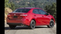 Novo Corolla com câmbio CVT decepciona em teste nos EUA