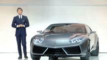 Lamborghini Estoque concept in Paris