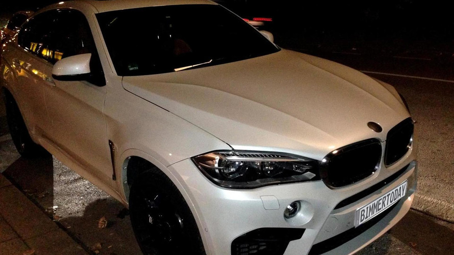 2015 BMW X6 M spotted in the metal for the first time