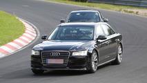 2016 Audi A8 mule spy photo