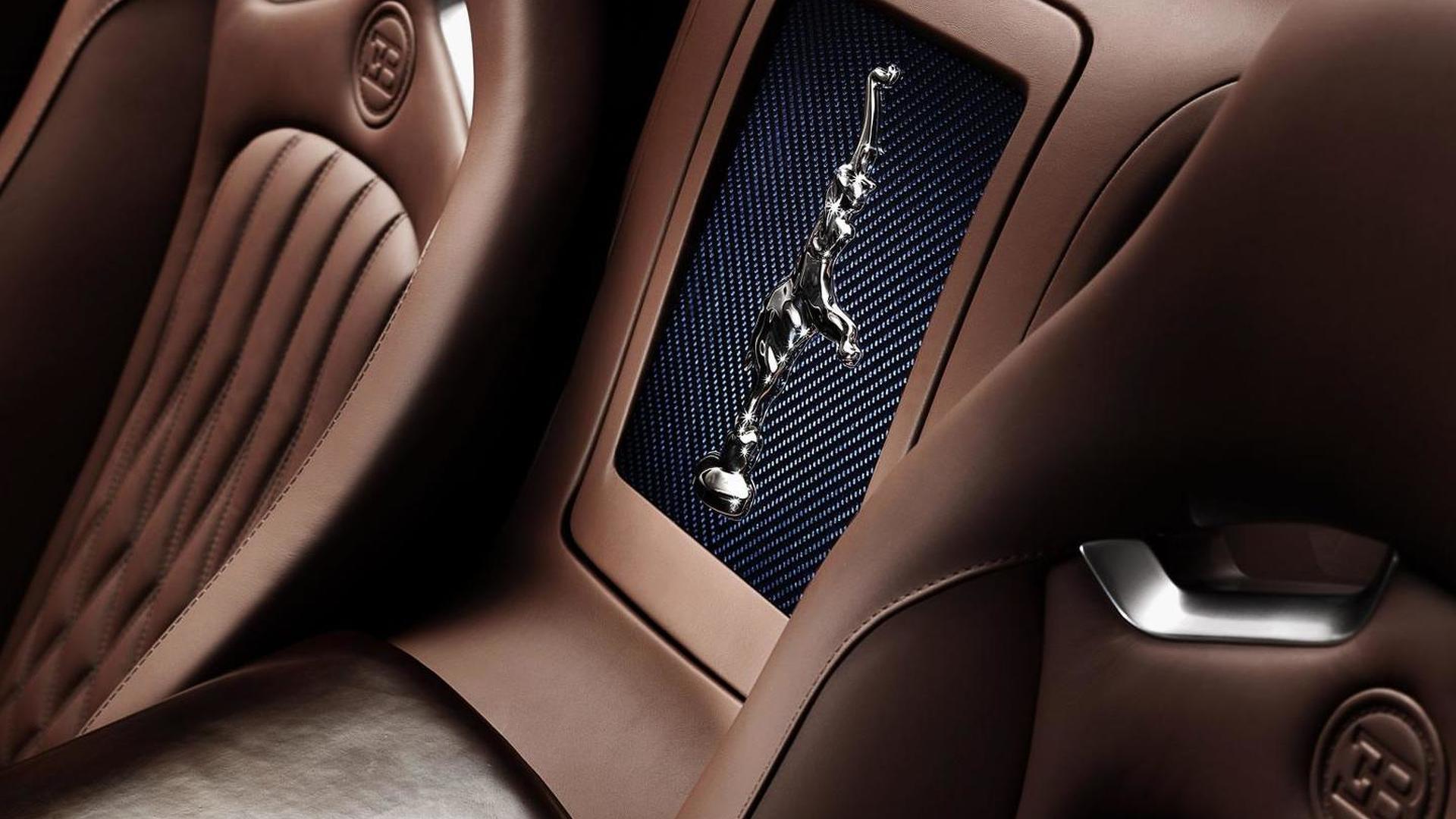 Фото салона Bugatti Veyron Ettore Bugatti Edition