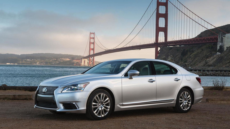 2015 Lexus LS unveiled with minor updates