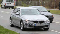BMW 3-Series Sedan facelift spy photo