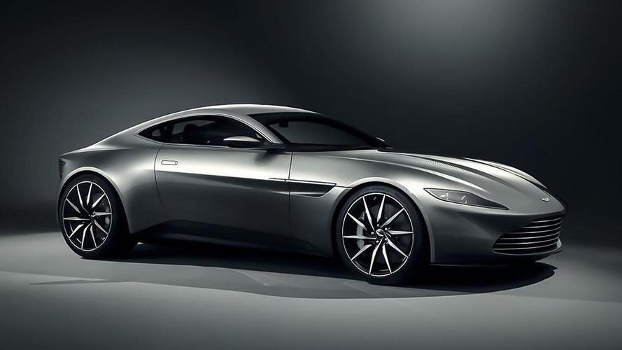 Aston Martin DB10 revealed for 24th James Bond movie called SPECTRE