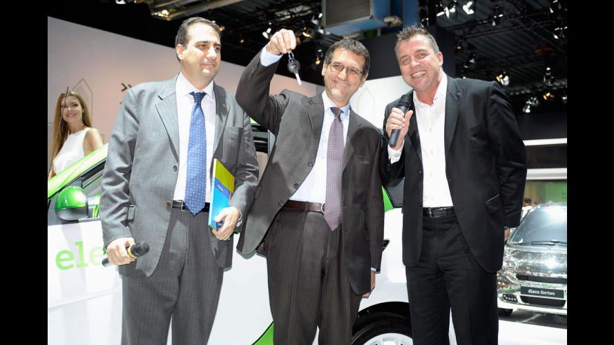 """Premiato al Motor Show il vincitore di """"Design your smart"""""""