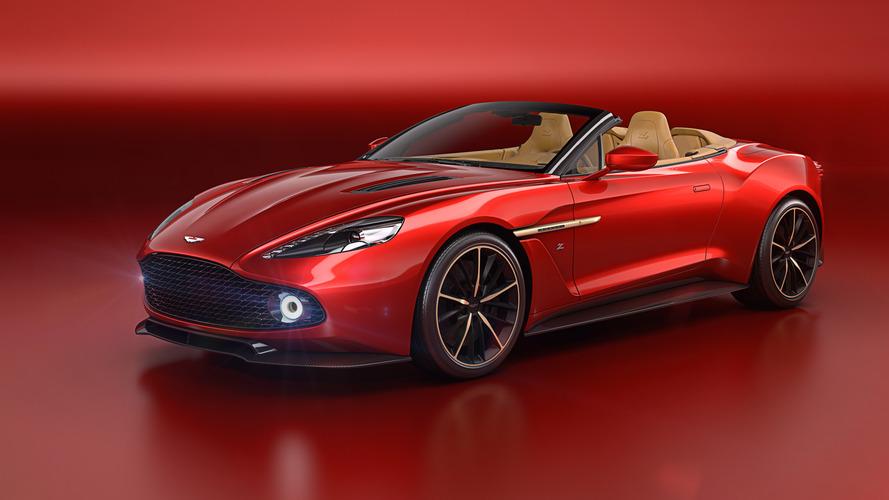 L'Aston Martin Zagato Vanquish s'offre une version découvrable pour Pebble Beach