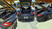 Porsche Cayman receives Ford 5.0L V8 conversion