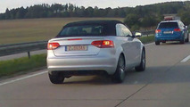 Audi A3 Cabriolet spy photo