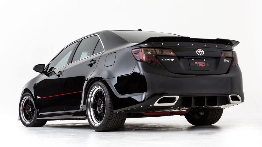 Toyota Camry gets the NASCAR treatment for SEMA