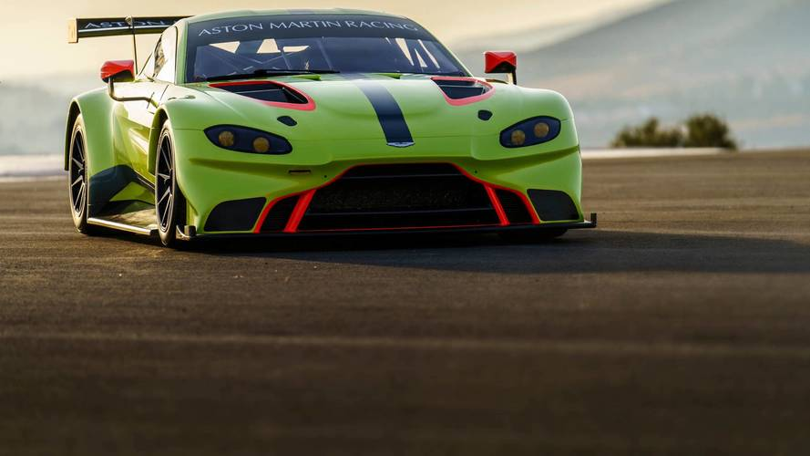 Aston Martin Reveal New Vantage GT3/GT4