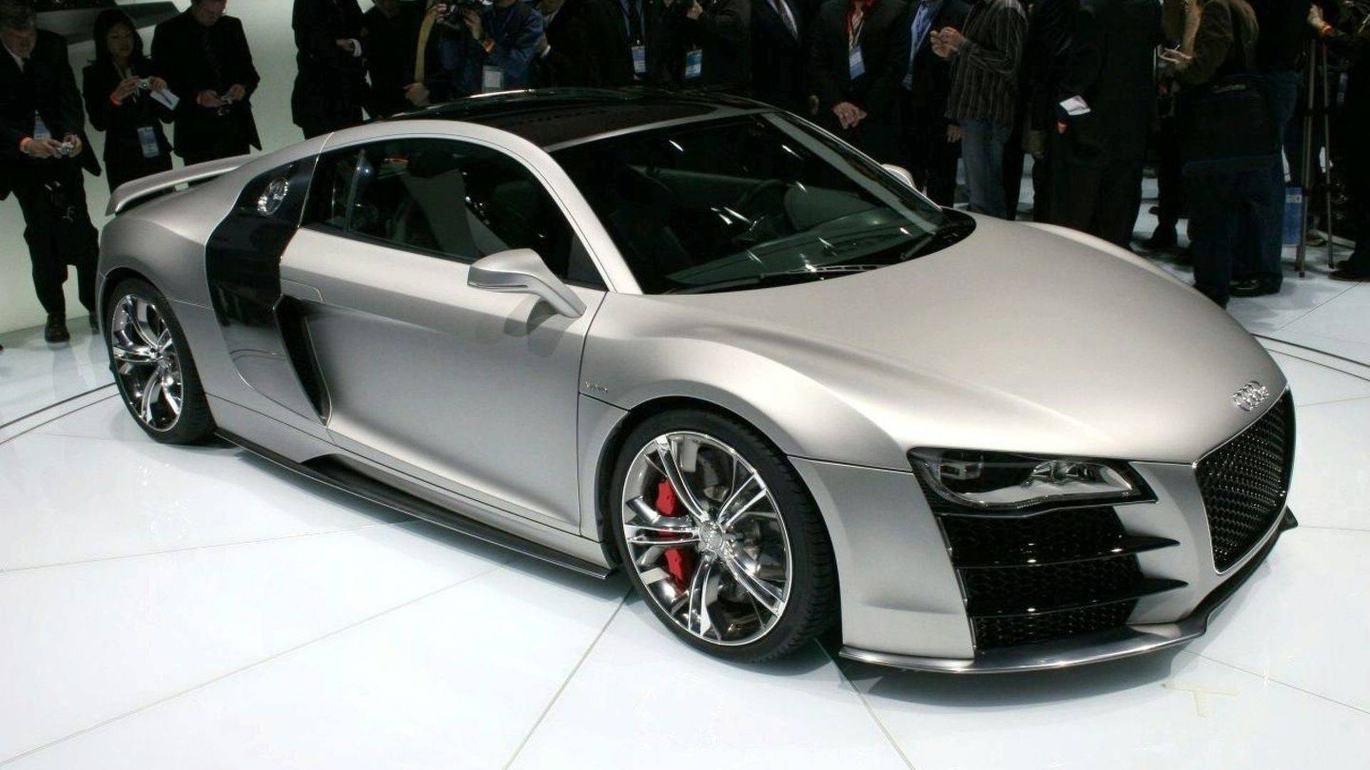 2008 Audi R8 V12 TDI: Concept We Forgot