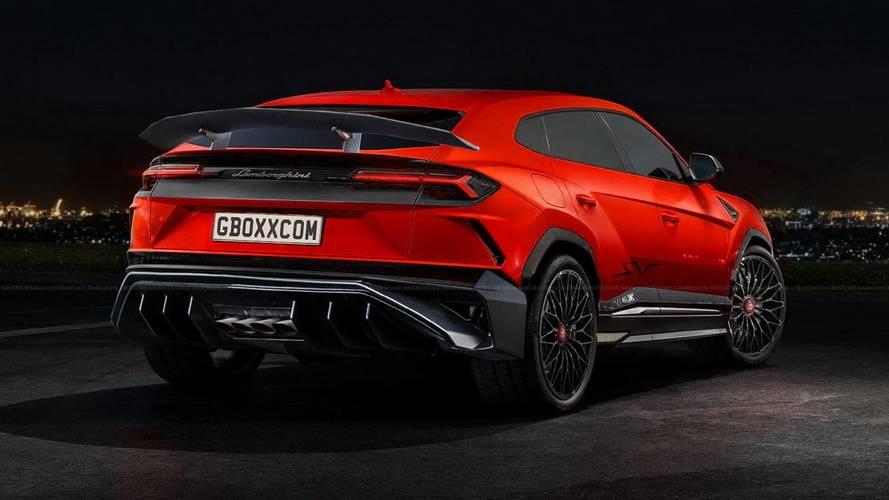 Lamborghini Urus render