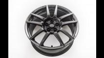 Ford GT, i cerchi in fibra di carbonio