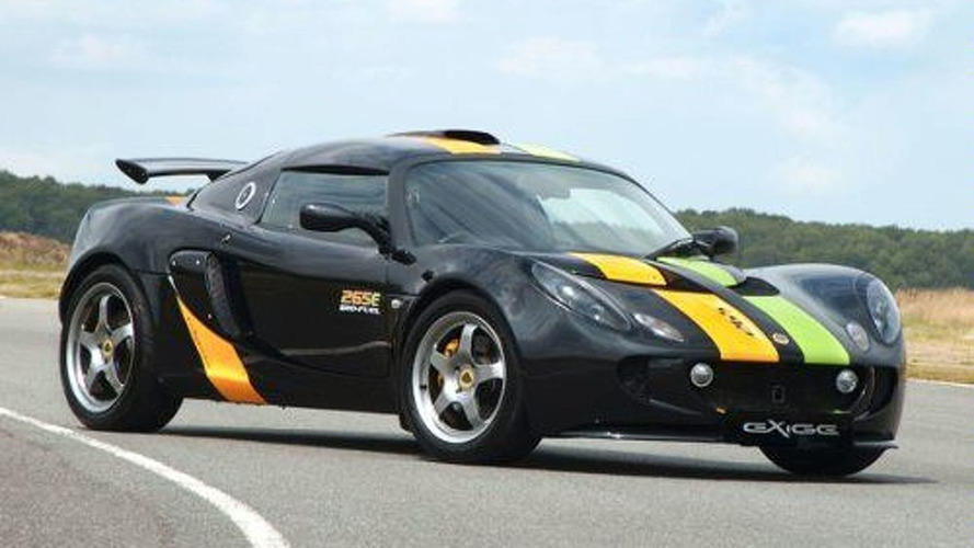 Lotus Exige 265E Makes Japanese Debut