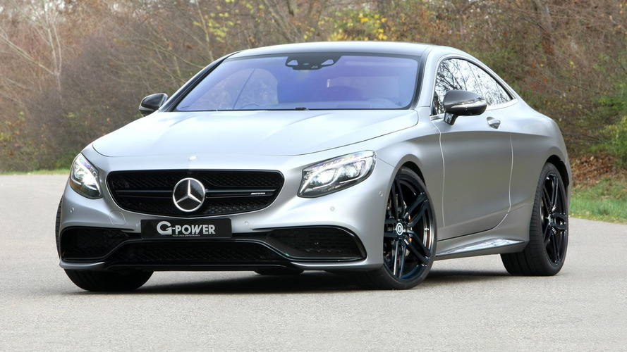 Mercedes-AMG S63 Coupe by G-Power packs 705 hp