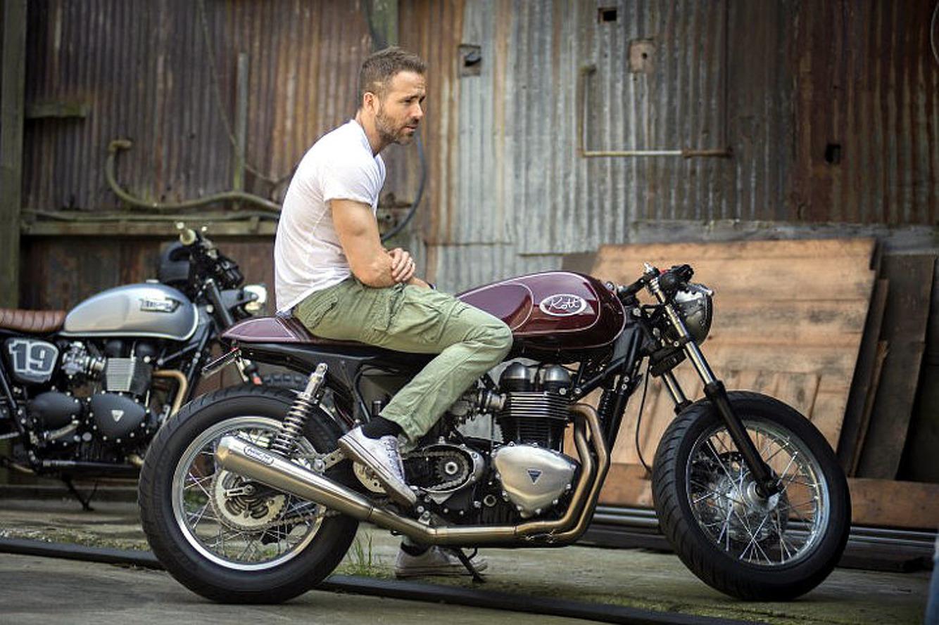 Ryan Reynolds' New Custom Triumph Invites the Unexpected
