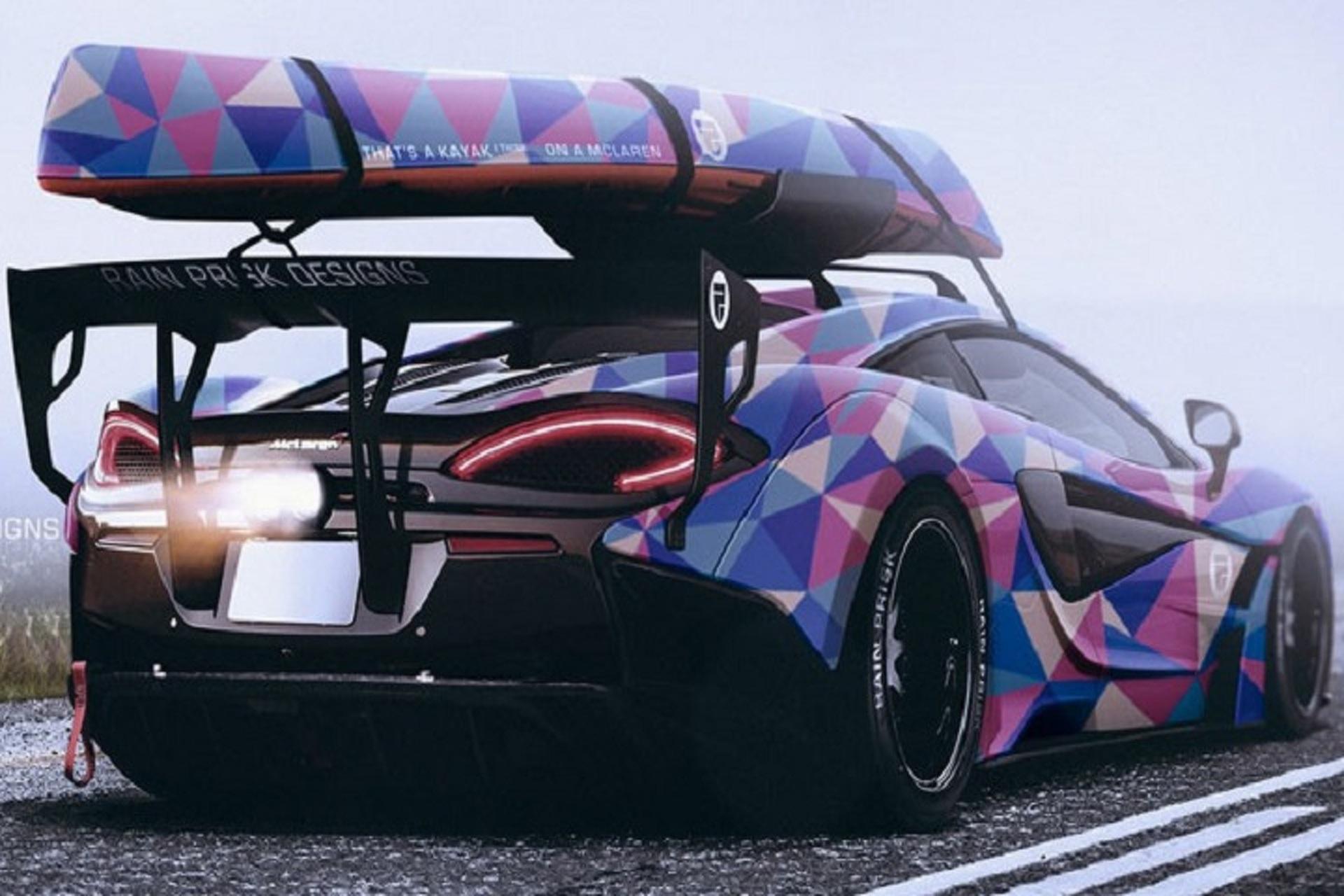 The McLaren 570S Kayak Rack You've Always Wanted