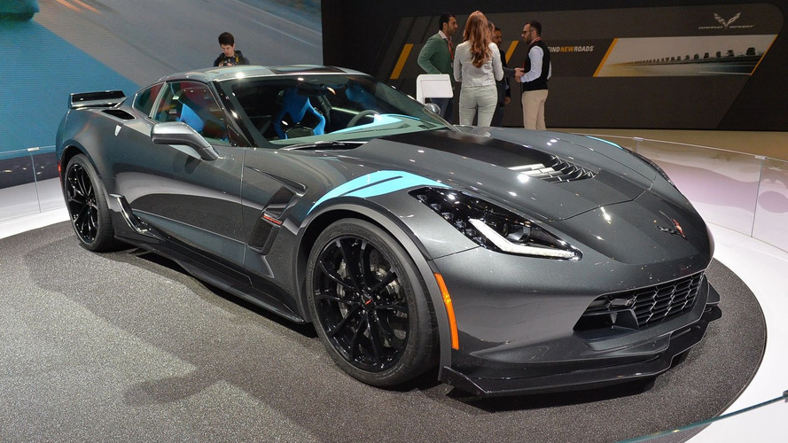 2017 Corvette Grand Sport unveiled with 460 hp
