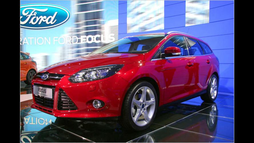 Ford in Paris: Neuer Focus in verschiedenen Varianten