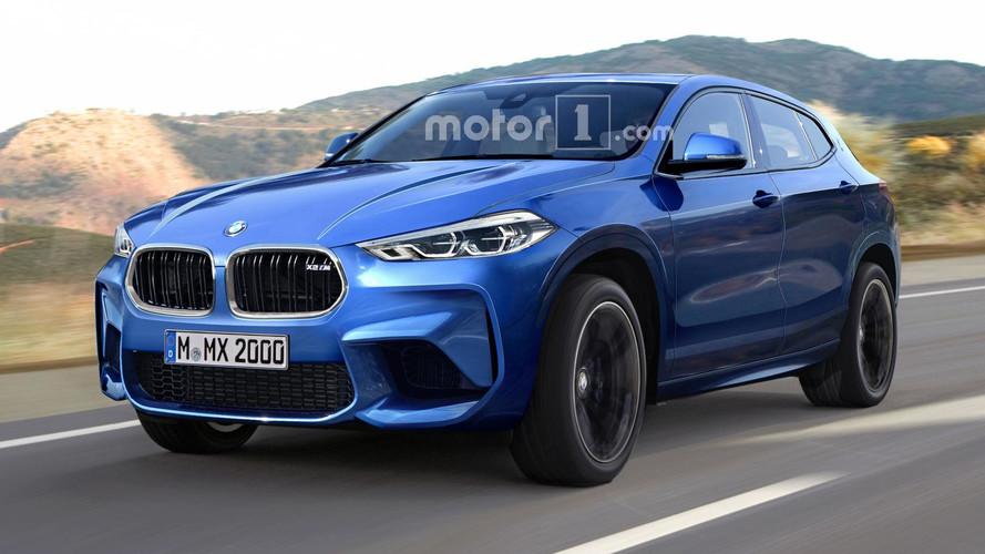 BMW X2 M'e agresif tasarım yorumu