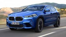 BMW X2 M Rendering