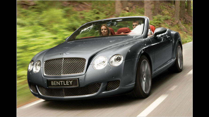 Continental GTC Speed: Das ist das stärkste Bentley-Cabrio