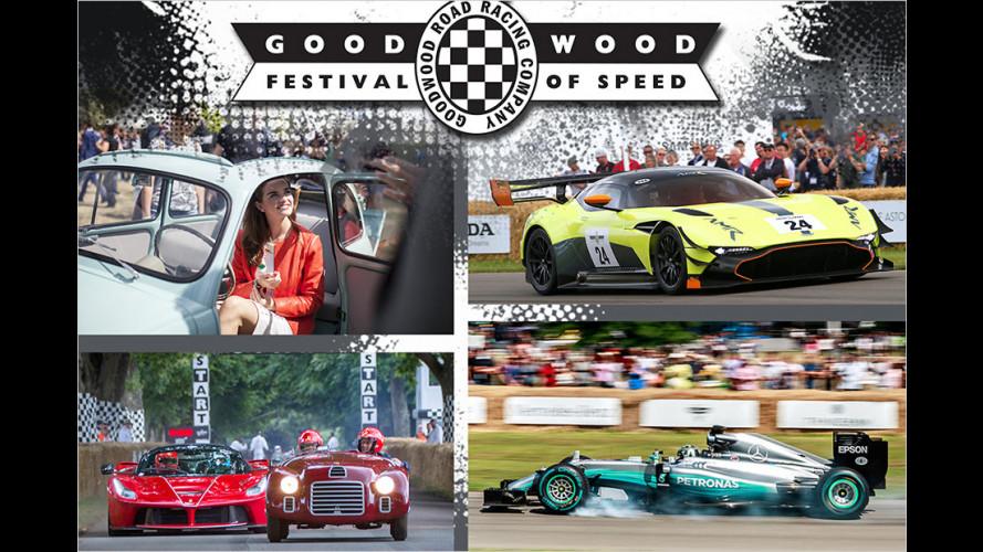 Goodwood Festival of Speed 2017: Die Highlights