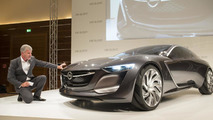 Opel Monza concept live at 2013 Frankfurt Motor Show