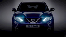 2014 Nissan qashqai teaser - lightened