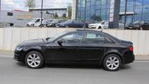 2015 Audi A4 mule spy photo